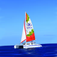 Hilton Spirit of Aloha catamaran