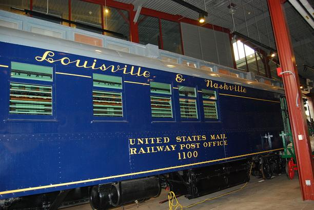 A Louisville and Nashville Railway Post Office Car.