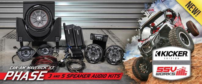 can-am maverick x3 speakers amp sub canton akron alliance ohio