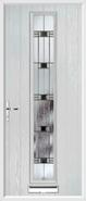 1 Strip Door aspen glass