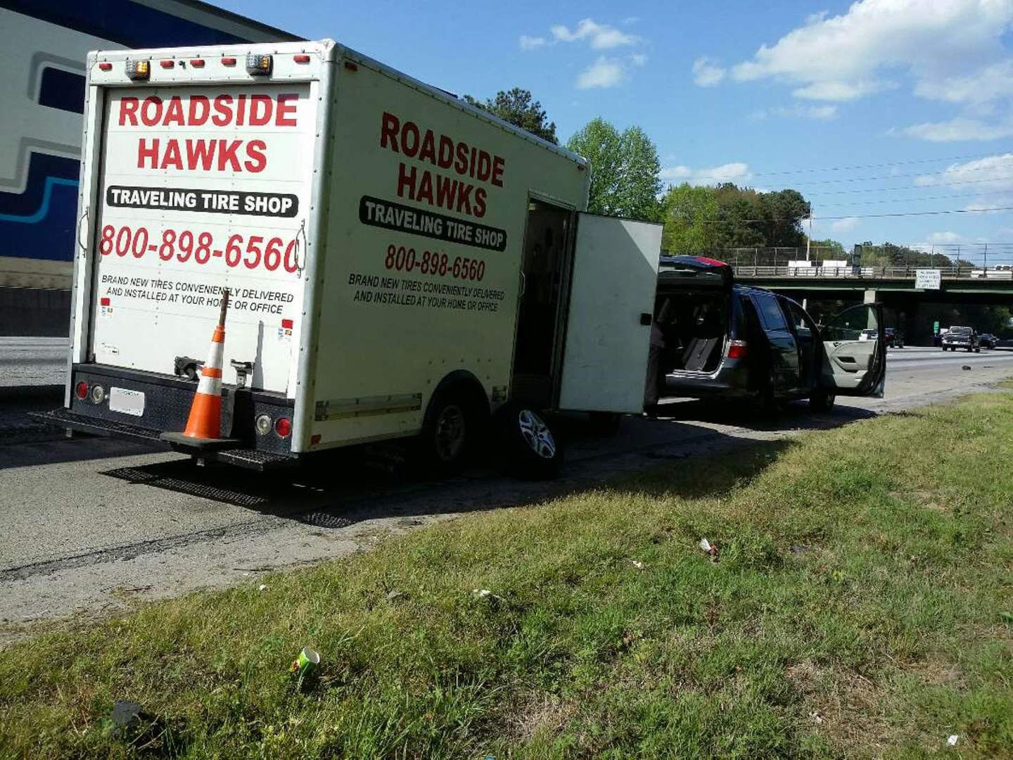 Tire Shops Near Me Open On Sunday >> 24 Hour Roadside Hawks Traveling Tire Shop Atlanta