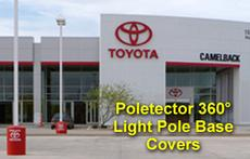 Polector Light Pole Base Covers