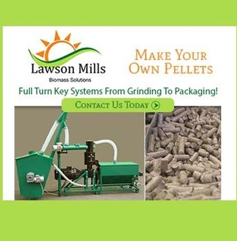 Lawson Mills, leading manufacturers of pelletizing equipment, energy-producers in the green economy