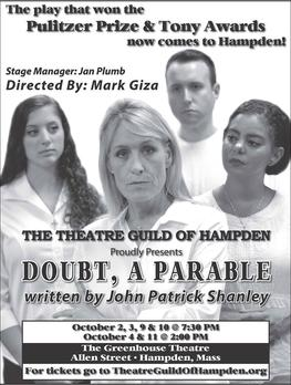 Theatre Guild of Hampden Presents Doubt