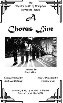 Theatre Guild of Hampden Presents A Chorus Line