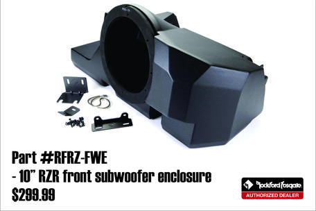 autosport plus rockford fosgate utv speakers canton ohio