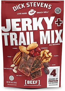 Dick Stevens Jerky Trail Mix