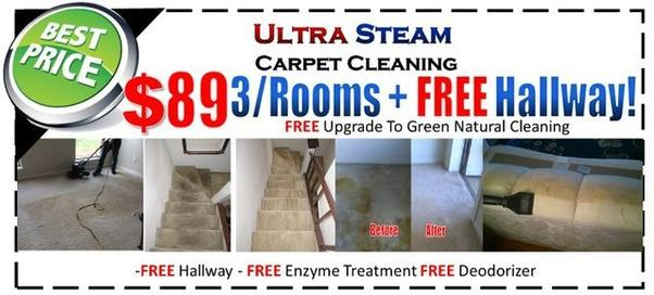 Tile & Upholstery Cleaning Specials