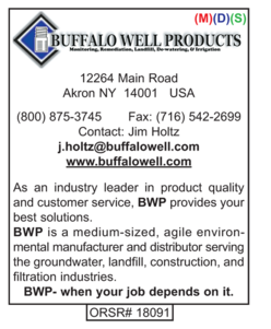 Environmental Products, Buffalo Well Products