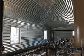 oil field shed interior