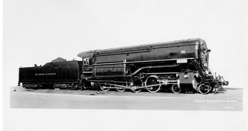 Freight Locomotive L.F. Loree, No. 1403, built in 1933.
