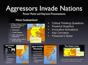 Aggressors Invade Nations History Presentation