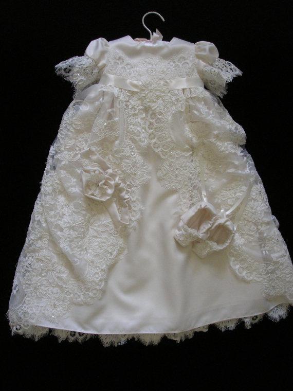 Bobbi Leiphart, Converting Wedding dresses into Christening and ...