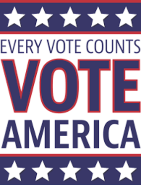 Every Vote Counts, Vote America!