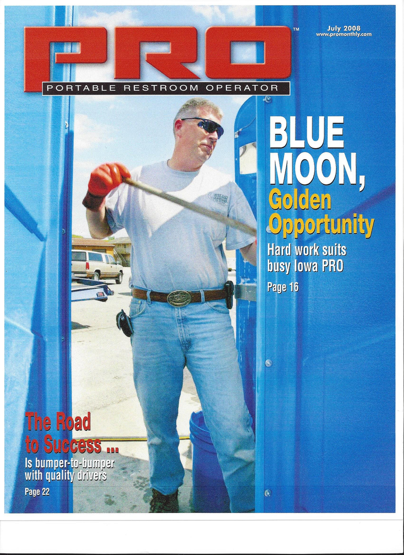 Blue Moon Satellites - Portable Toilets - Owners Rob & Cindy