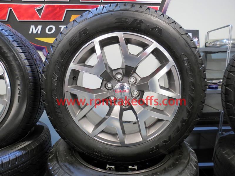 20 Gmc Sierra All Terrain Edition Wheels And Tires
