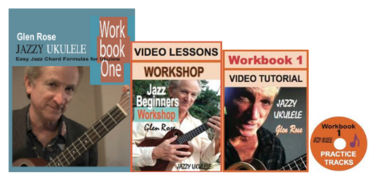 Jazzy Ukulele Workbook 1 bundle