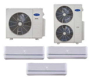 Carrier Multi Zone Ductless Products