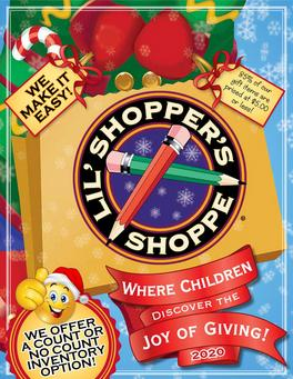 Holiday Shop program for Elementary Schools