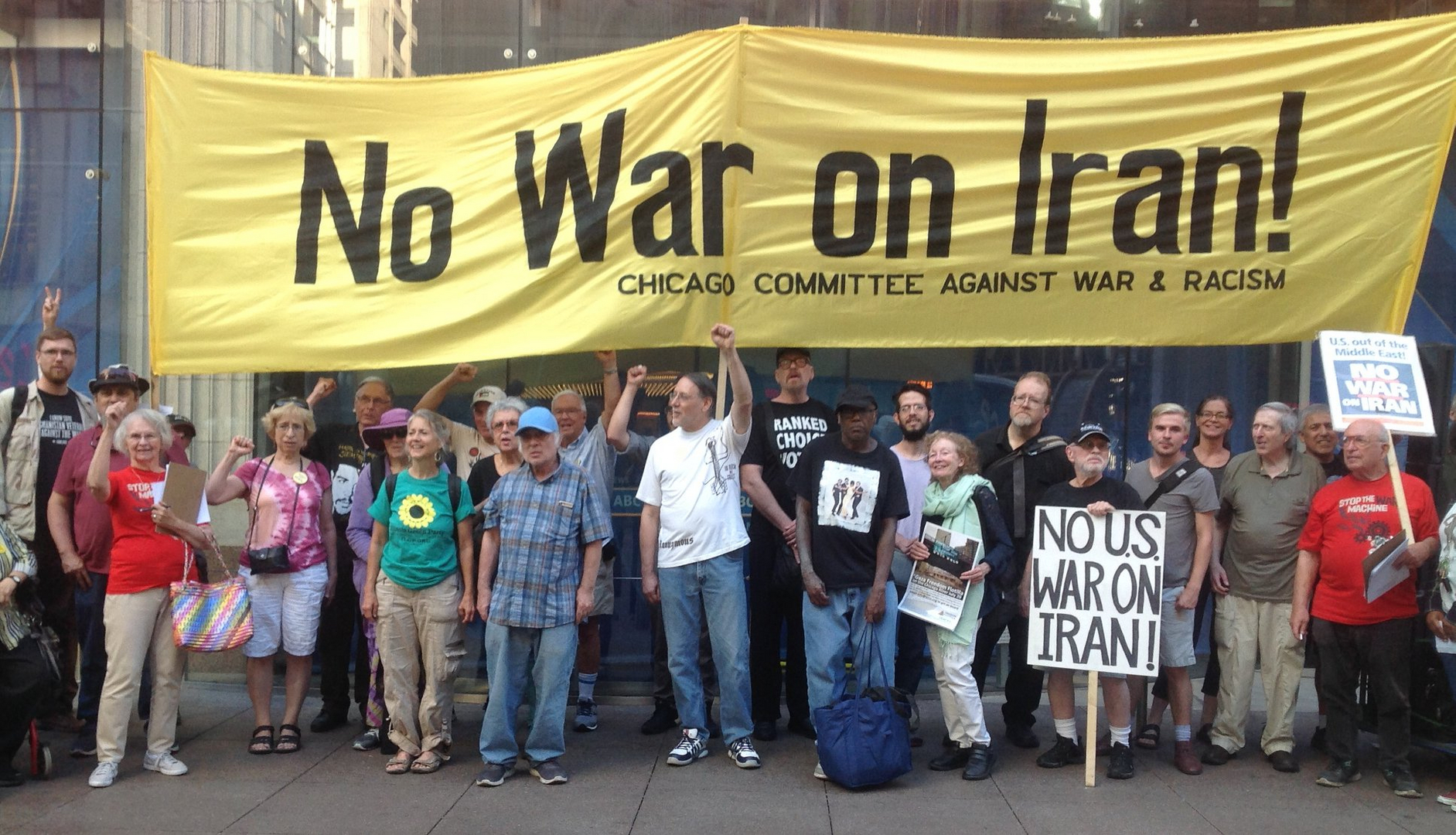 2016 21: Veterans For Peace Calls for an End to U.S. Wars in