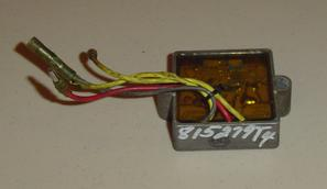Used voltage regulator for a 1995 40 hp Force outboard 815279T4 and 883071A1