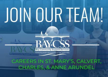 careers with bay community support services of maryland