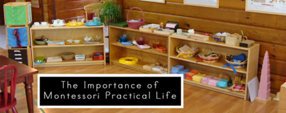 Practical life is the foundation of Montessori education - Montessori Print Shop