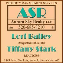 Real Estate Press, Southern Arizona, Aurora Sky Realty LLC