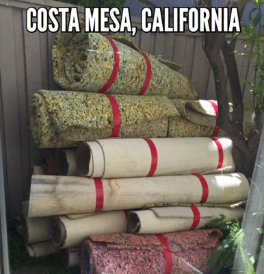 Costa Mesa Carpet Removal