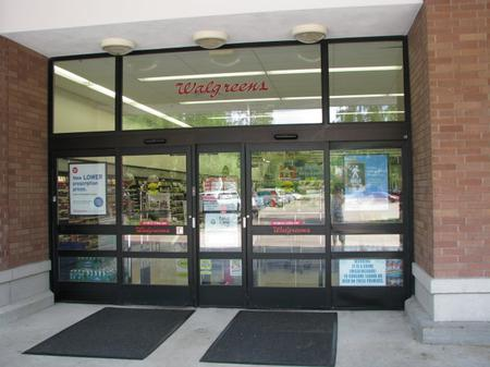 automatic sliding door for supermarket