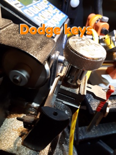 Dodge keys making and duplicating on site