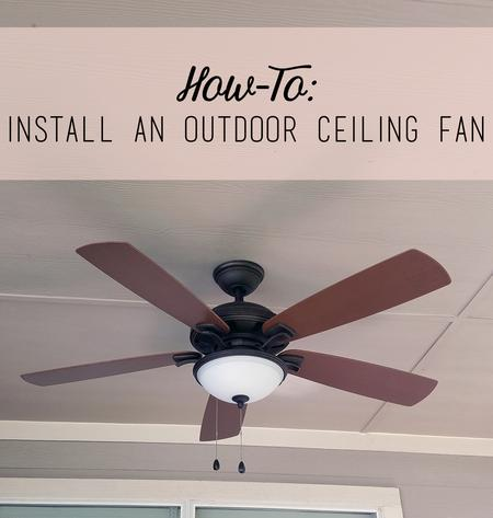 hook up ceiling fan wiring