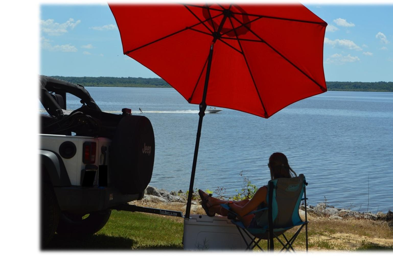 Tailgate, Hitch Umbrella, TailBrella