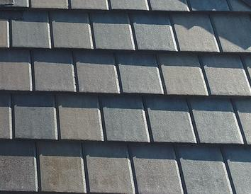 Boral Saxony Country Slate Wolf Grey; Houston roof contractor; concrete tile installation