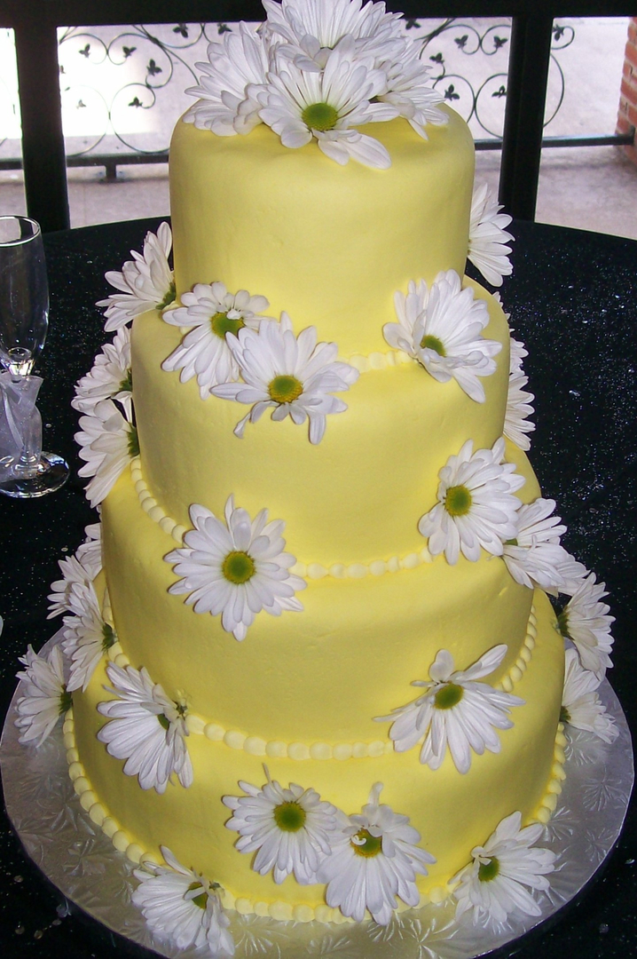 Custom made cakes and cookies in West - Wedding Cakes 4 Flowers