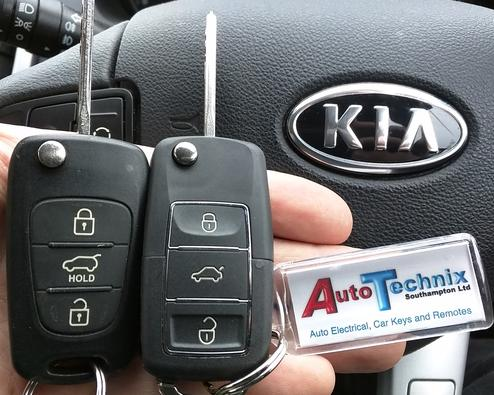 Kia remote key