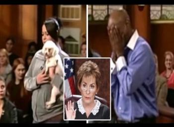 An Emotional judgment by Judge Judy: The dog chooses his real owner in court