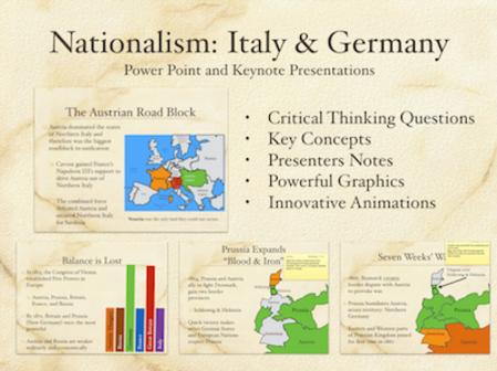 Nationalism Case Study: Italy and Germany
