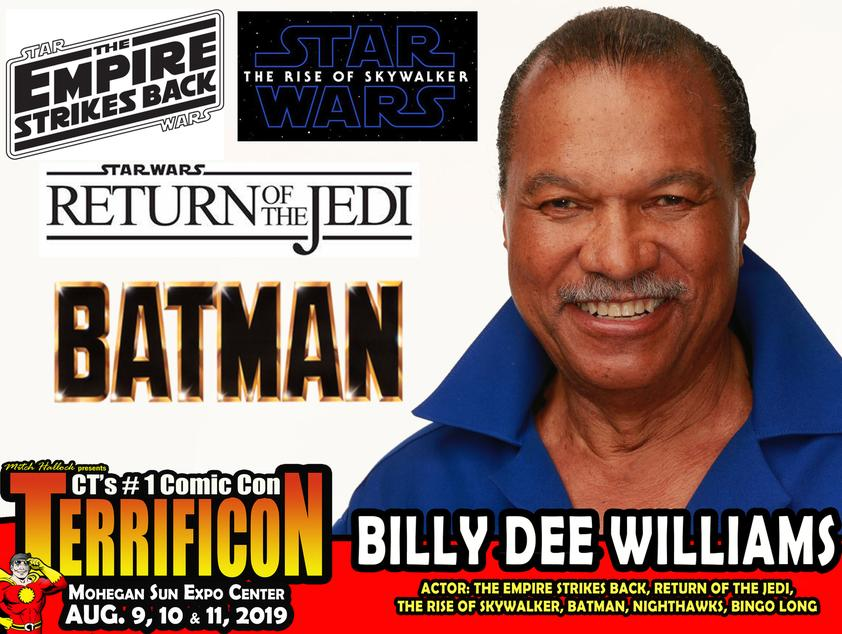 BILLY DEE WILLIAMS TERRIFICON