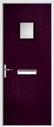 Cottage Square Composite Door obscure glass