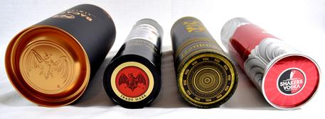 Liquor tube lids