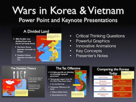 Cold War: Wars In Korea and Vietnam PowerPoint