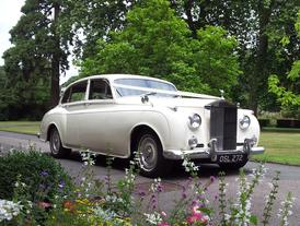 Rolls Royce Silver Cloud 1 white wedding car- Essex Wedding Cars