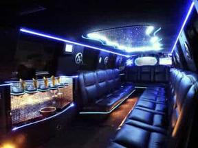 Escalade Limo in White