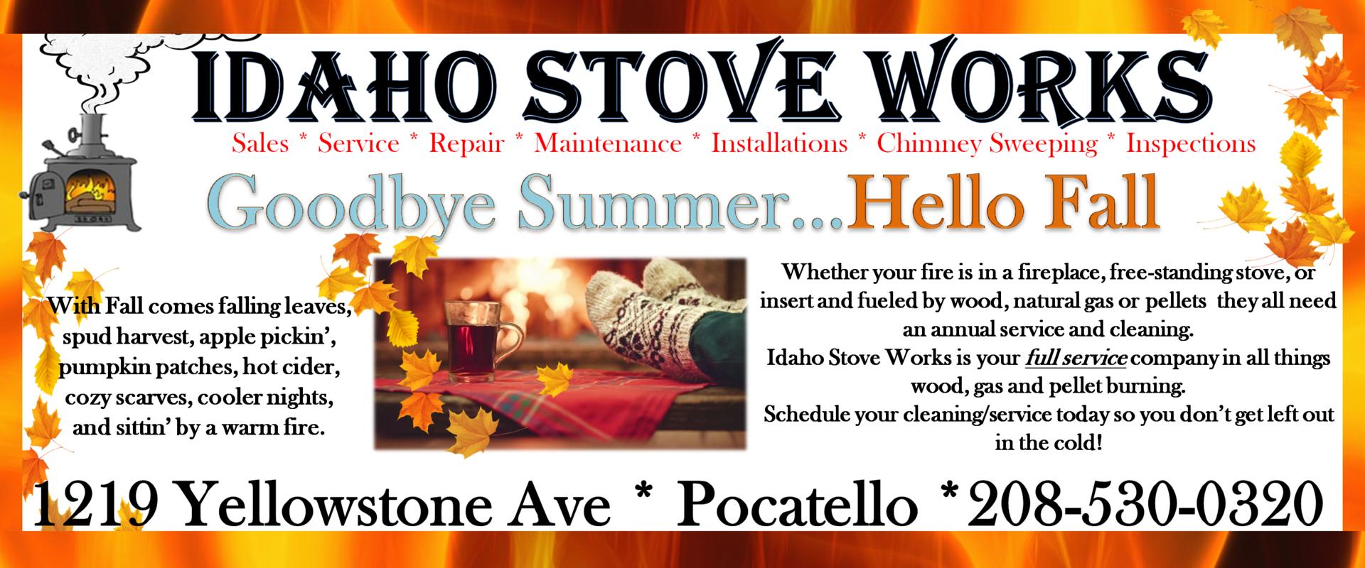 idaho stove works in pocatello id