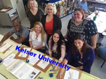 Keiser University Students Life Drawing Project