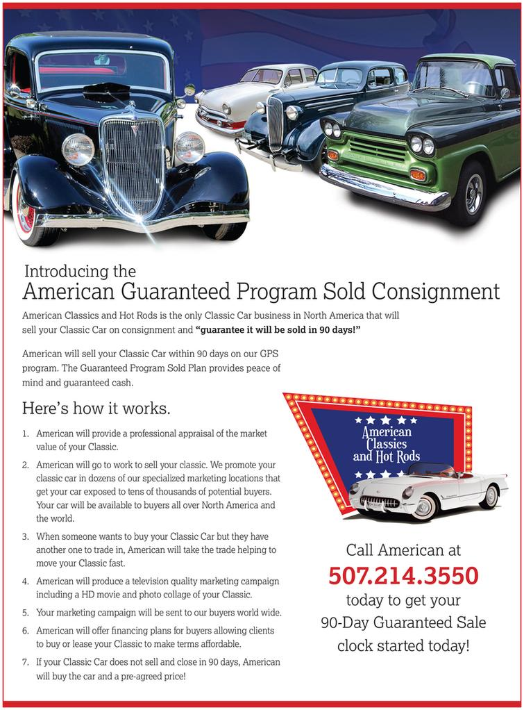 Collector Car Consignment