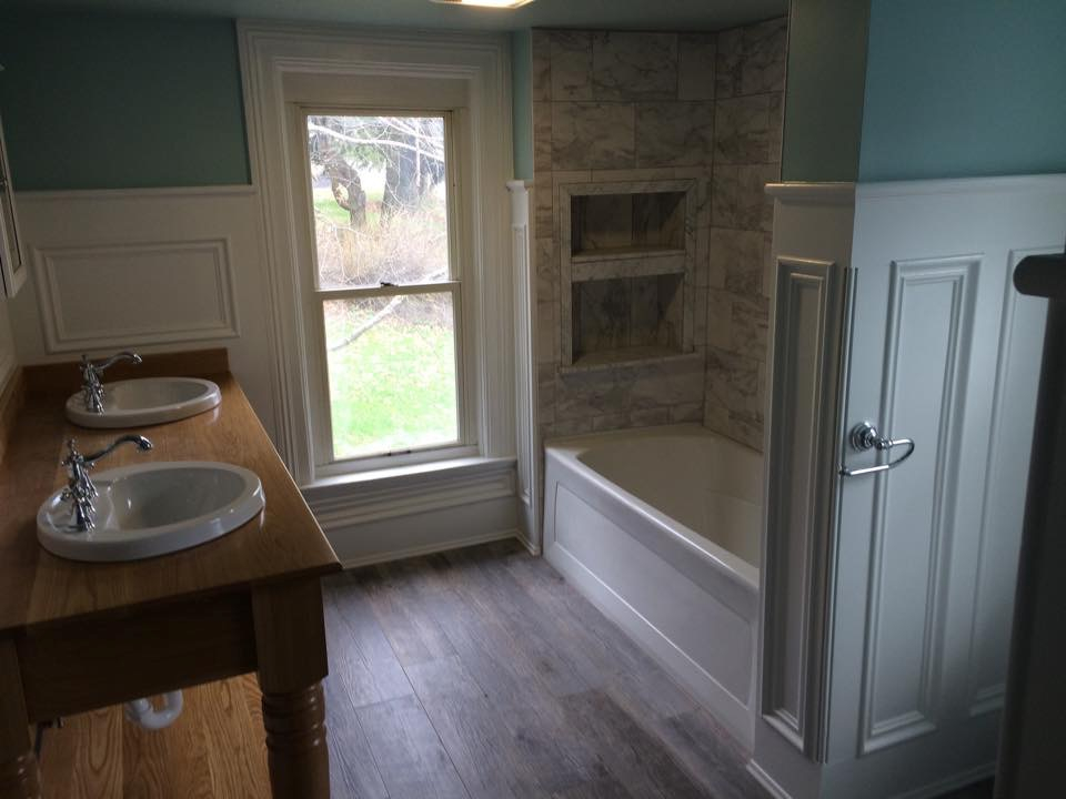 General Contracting Home Renovation Dornetto Construction - Bathroom remodeling cranberry twp pa
