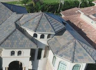 Concrete tile roofing in Houston; Houston roof contractor