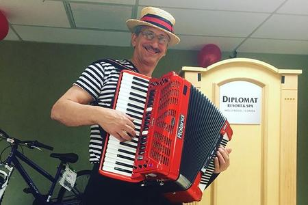 Italian Accordion Player